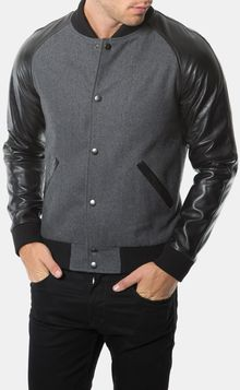 7 Diamonds Vaprio Varsity Jacket - Lyst