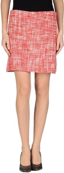 Compagnia Italiana Mini Skirt - Lyst