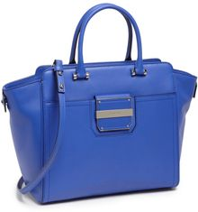 Milly Colby Leather Tote - Lyst