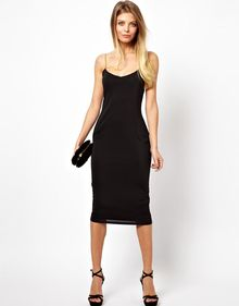 Asos Chain Strap Cami Dress - Lyst