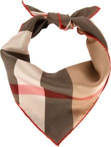 Burberry Signature Check Scarf - Lyst
