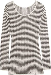 Duffy Linen and Cotton Blend Sweater - Lyst