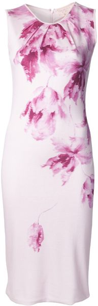 Giambattista Valli Floral Print Dress - Lyst