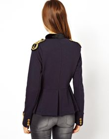 Ralph Lauren Military Jacket - Lyst