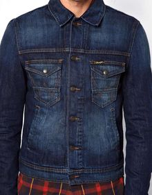Wrangler Denim Jacket Warm Indigo - Lyst