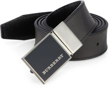 Burberry Check Buckle Belt - Lyst