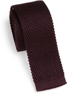 Burberry Knit Silk Tie - Lyst