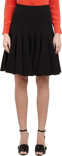 Derek Lam Flared Skirt - Lyst