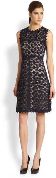 Elie Tahari Ophelia Dress - Lyst