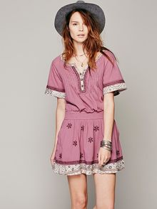 Free People Meet Me Marfa Dress - Lyst
