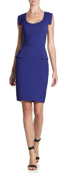 French Connection Usa Reigning Seamed Sheath Dress - Lyst