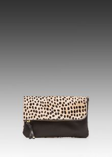 Gorjana Perry Ii Noir Small Clutch in Black - Lyst