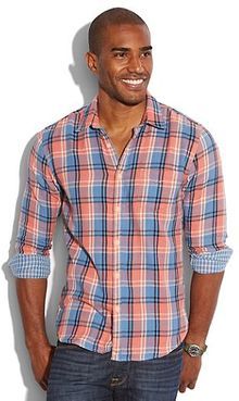 Lucky Brand Kirkwood Plaid 1 Pocket - Lyst