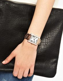 Michael Kors Emery Rose Gold Watch - Lyst