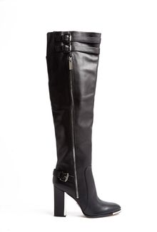 Michael Kors Jayla Metal Heel Buckle Knee High Boots - Lyst
