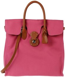 Ralph Lauren Large Fabric Bag - Lyst