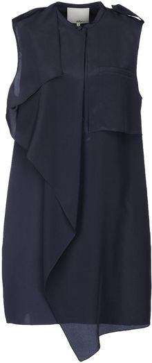 3.1 Phillip Lim Short Dress - Lyst