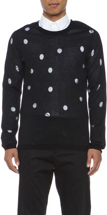 Acne Pierce Polka Dot Sweater - Lyst