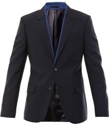 Alexander McQueen Wool Dinner Jacket - Lyst