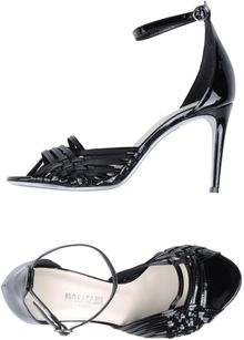 Balmain Highheeled Sandals - Lyst