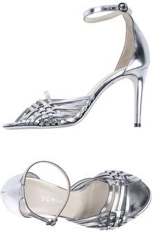 Balmain High-Heeled Sandals - Lyst