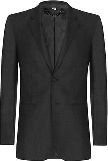 Burberry Pin Dot Wool Jacket - Lyst