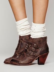 Free People Dolli Ankle Boot - Lyst