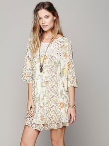 Free People Magic Garden Dress - Lyst