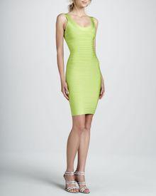 Hervé Léger Basic Bandage Dress  - Lyst