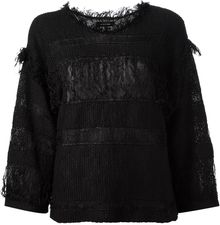Isabel Marant Distressed Top - Lyst