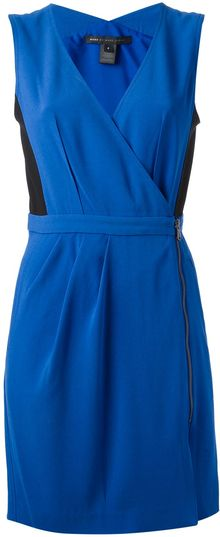 Marc By Marc Jacobs Anya Crepe Dress - Lyst
