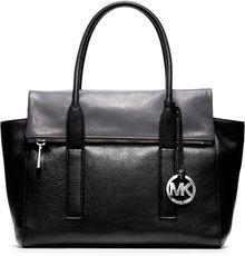 Michael Kors Michael Large Tippi Pebbled Satchel - Lyst