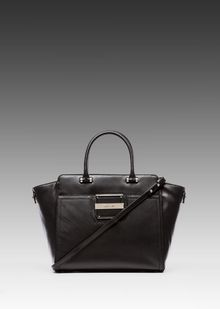 Milly Colby Collection Tote in Black - Lyst