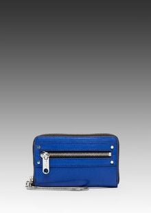 Milly Riley Collection Smart Phone Wristlet in Blue - Lyst