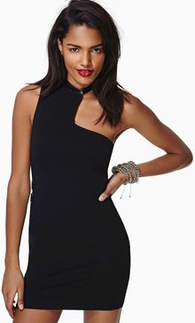 Nasty Gal One Sided Dress - Lyst