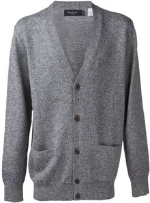Paul Smith V Neck Cardigan - Lyst