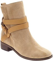 See By Chloé Flat Ankle Boot - Lyst