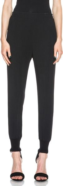 Stella McCartney Elastic Trousers - Lyst