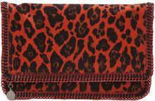 Stella McCartney Leopard Clutch - Lyst