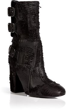 Laurence Dacade Distressed Leather Merli Half Boots - Lyst
