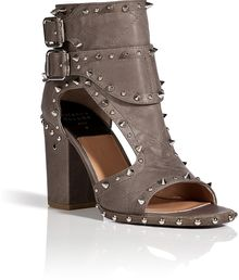 Laurence Dacade Studded Leather Open Toe Sandals - Lyst