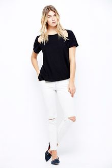 LNA Diamond Tee - Lyst