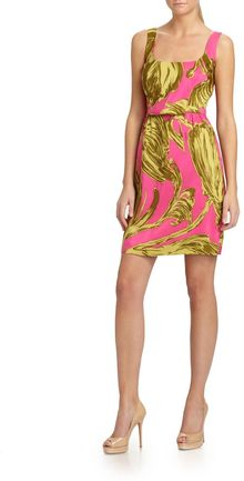 Milly Jillian Silk Tank Dress - Lyst