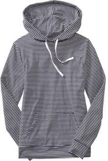Old Navy Striped Jersey Hoodies - Lyst