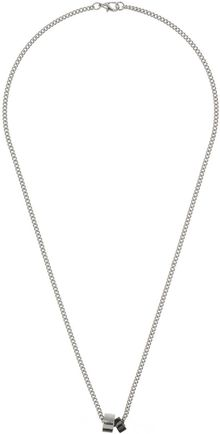 Topman Rings On Chain Necklace - Lyst