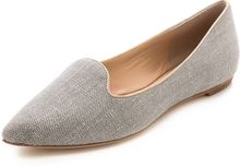 Belle By Sigerson Morrison Sadie Tweed Loafers - Lyst