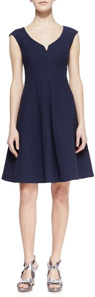 Nanette Lepore Artisan Medallion Flare Dress - Lyst