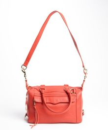 Rebecca Minkoff Scarlet Leather Mab Mini Top Handle Bag - Lyst
