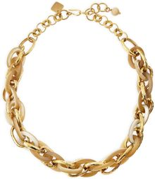 Ashley Pittman Ndovu Light Horn Bronze Necklace - Lyst