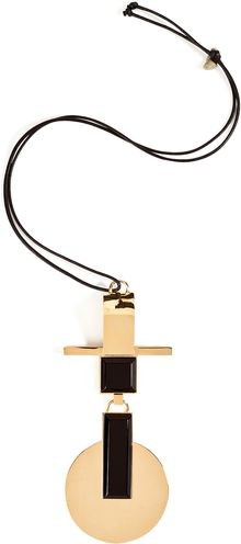 Ralph Lauren Collection Enamel Pendant Necklace - Lyst